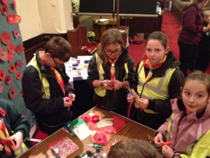 cubs making poppies nov 14